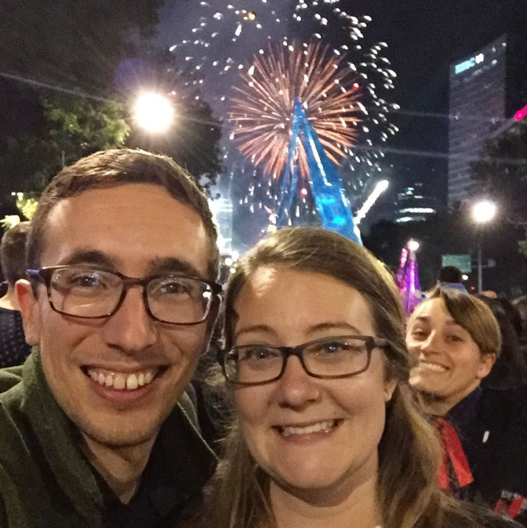 5 Surprising Things About New Year s Eve in Mexico City        The Voyageer Don t worry  that A  photobomber is our friend Megan  New Year s Eve in Mexico  City
