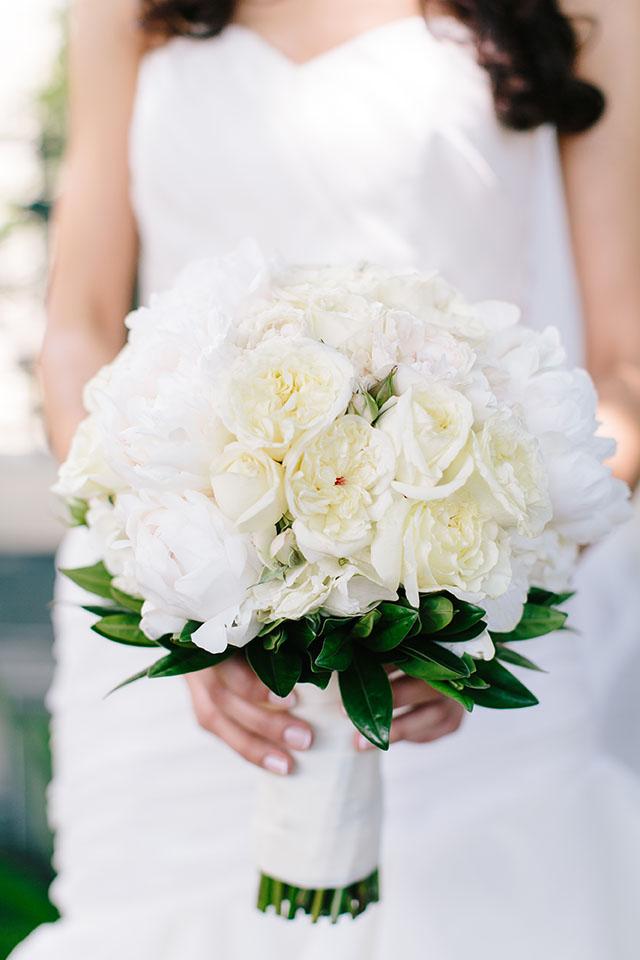 Classic Bridal Bouquet The White Orchid Floral Design