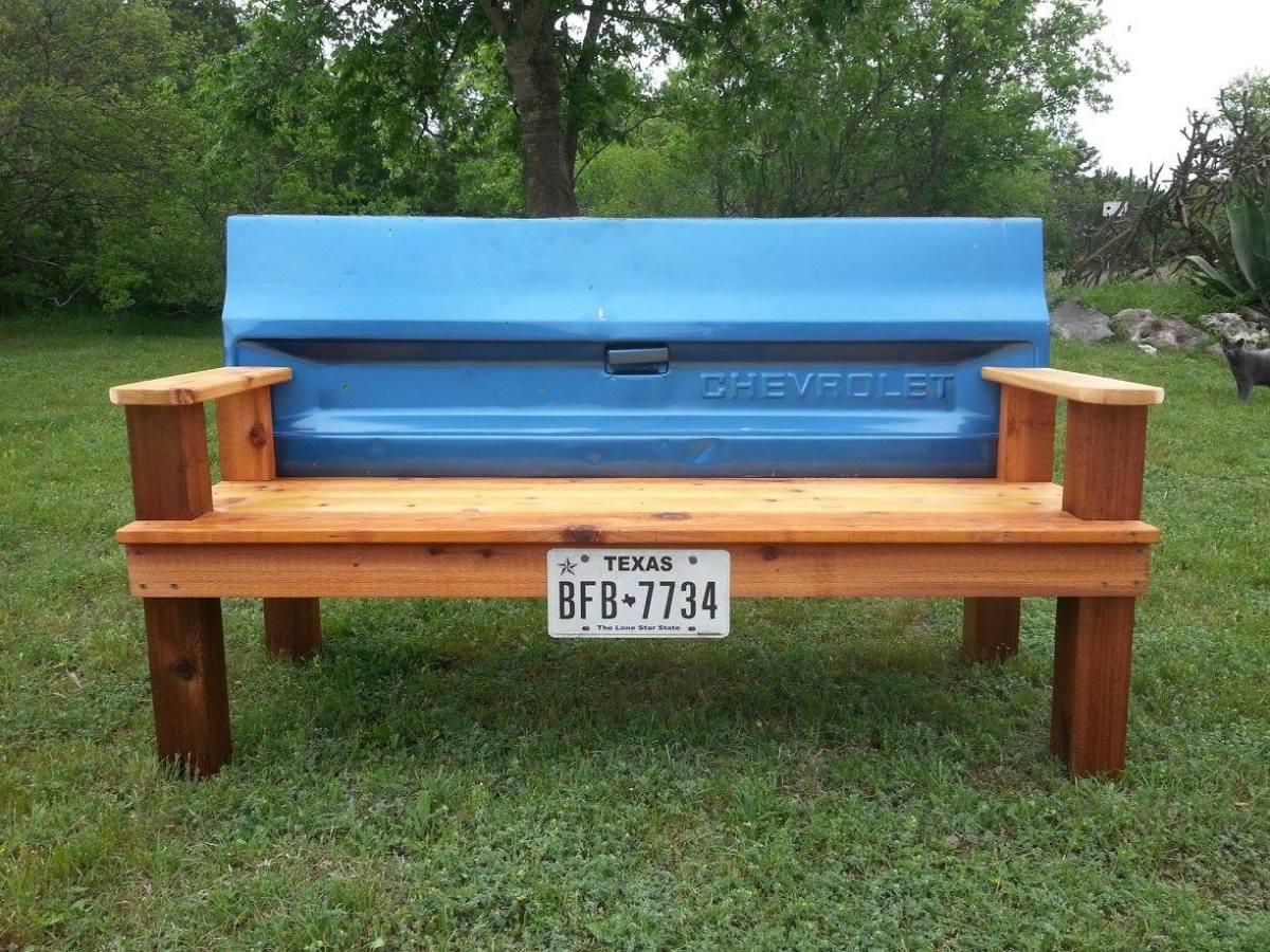 Tailgate Bench Things Pat Made