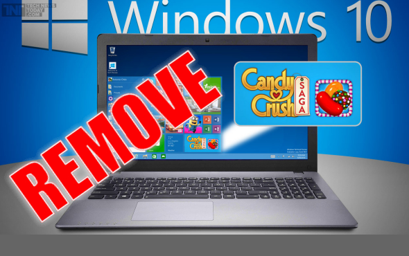 How To Remove Candy Crush Saga From Windows 10