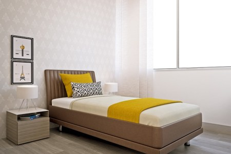 How to Transform Your Small Bedroom into a Comfy Sleep Chamber     That way  you ll create more space and make the bedroom appear visually  bigger  There are plenty of helpful tips on this matter  so keep on reading  to find