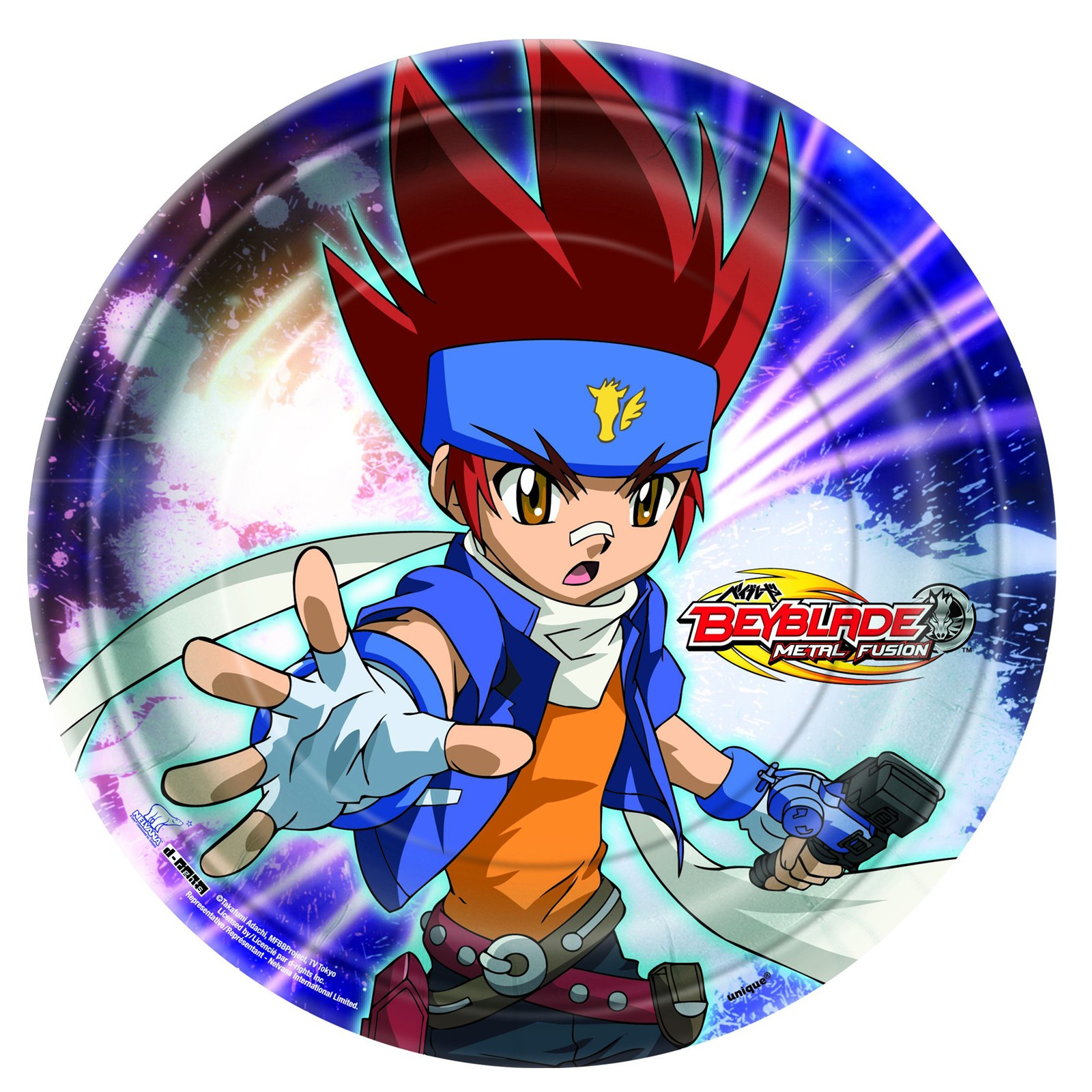 Beyblade Cake Icing Image This Party Started
