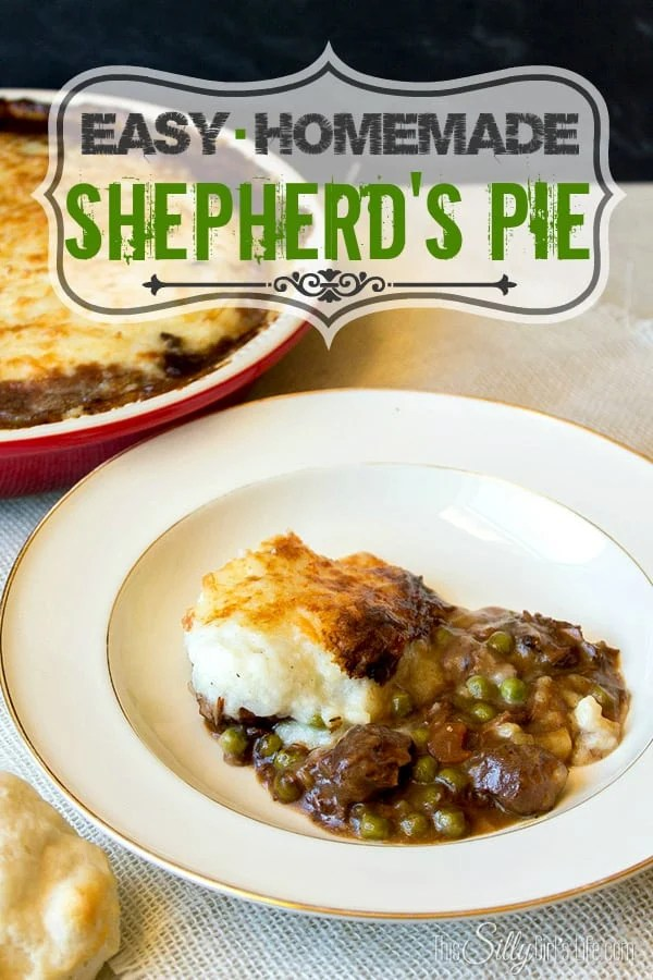 Easy Homemade Shepherd's Pie... So warm and full of flavor, you will have to go back for seconds!
