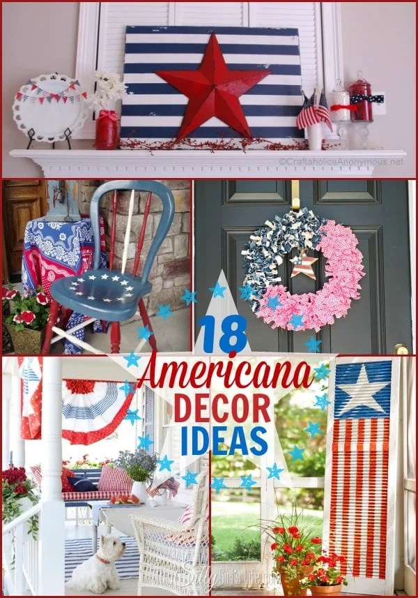 18 Americana Decor Ideas