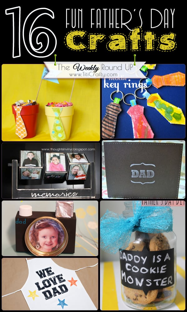 Fun-Father's-Day-Crafts-Weekly-Round-Up