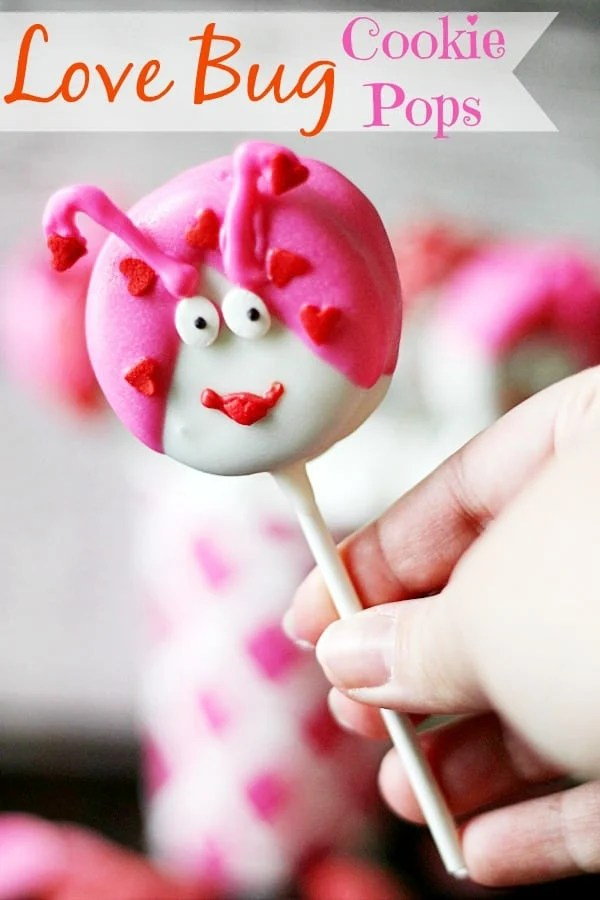 Love Bug Cookie Pops, Adorable and Easy to Make!