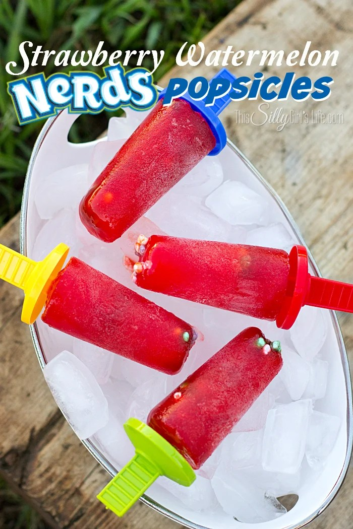 Strawberry Watermelon Nerds Popsicles from ThisSillyGirlsLife-5