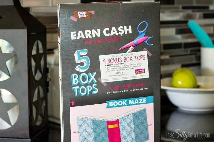 Earn money for your children's school with Box Tops! #ad #BTFE