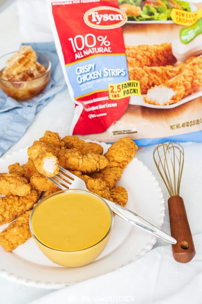 Perfect for dipping, cooking, or dressing a salad, you can't go wrong with a honey mustard recipe in your arsenal. #recipe from thissillygirlskitchen.com #honeymustard #honeymustardrecipe