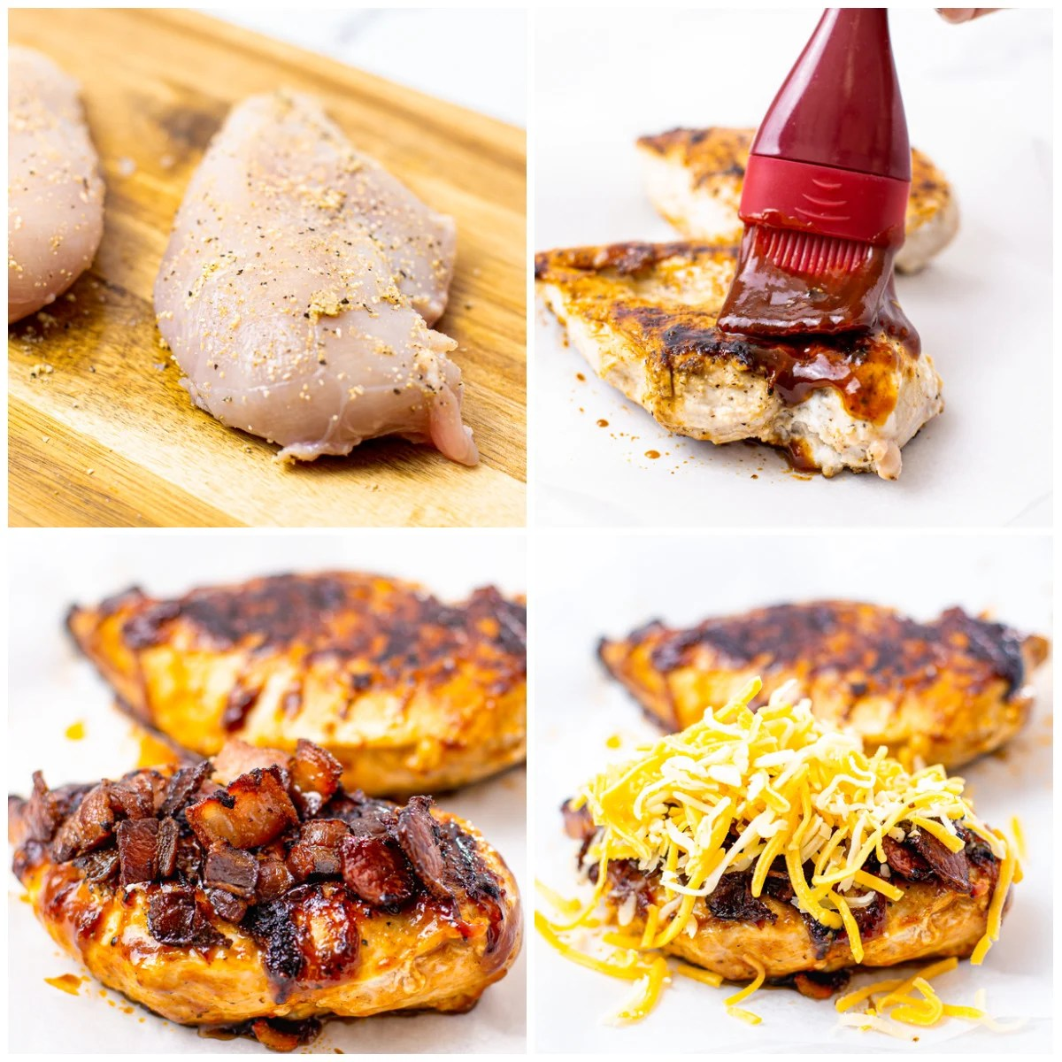 Step by step photos on how to make Monterey Chicken
