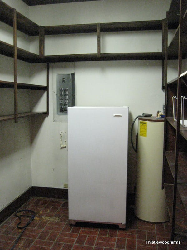 Remember this is what the butler's pantry looked like before?