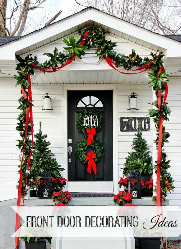 front-door-decorating-ideas-how-to-Christmas