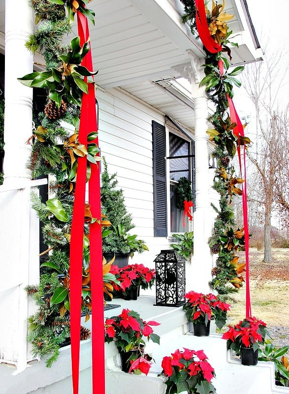 how-to-decorate-a-front-door-ribbon