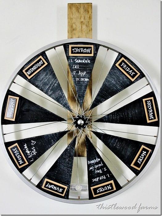bicycle-wheel-chalkboard-calendar