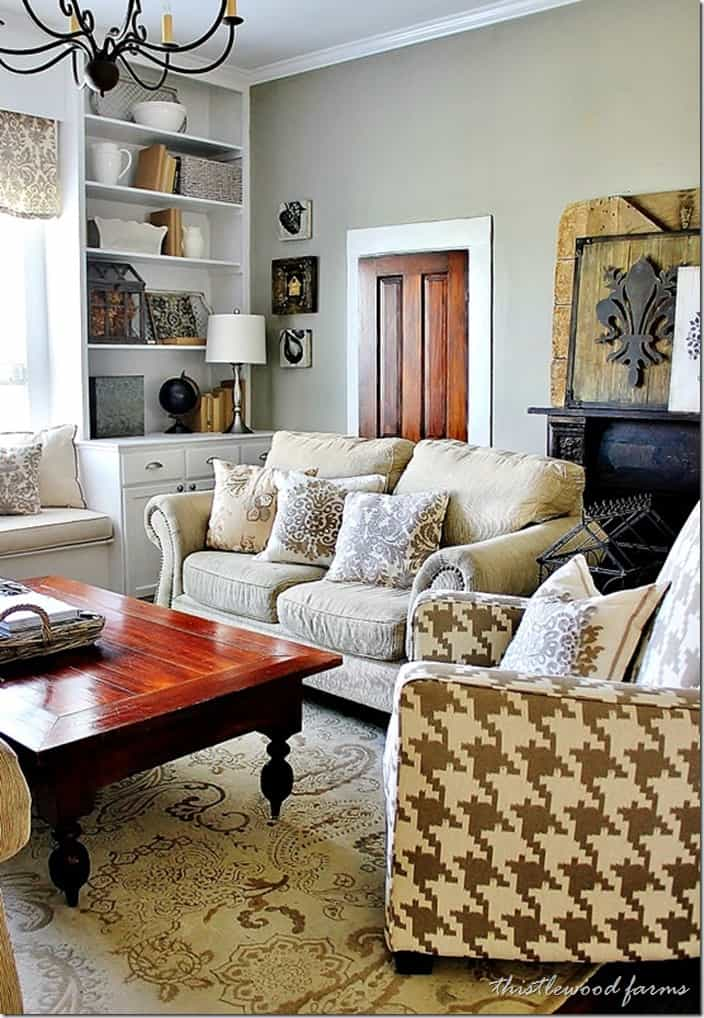 Pictures Decorated Living Rooms