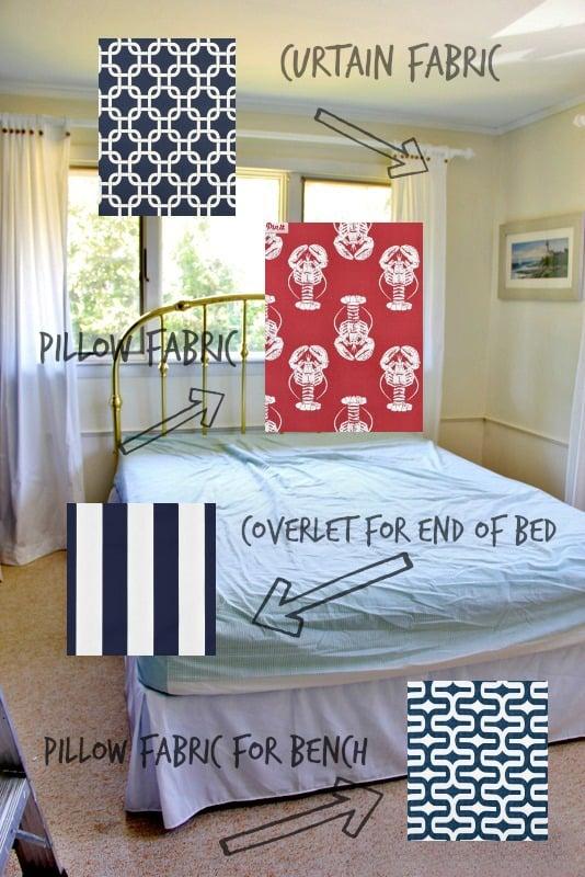 Fabric Ideas for Beach House