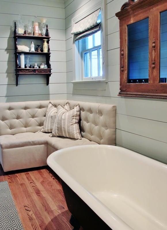 vintage bath sofa
