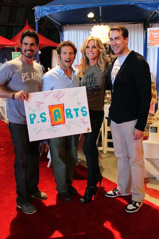 PS Arts 2014 - Don Diamont, Mark Feuerstein, Cindy Ambuehl, Rob Riggle