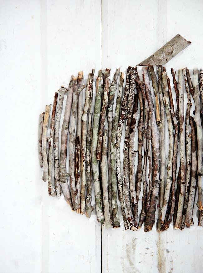 wood stick pumpkin thistlewood