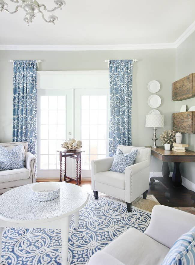 Spruce up the living room with thrift store finds