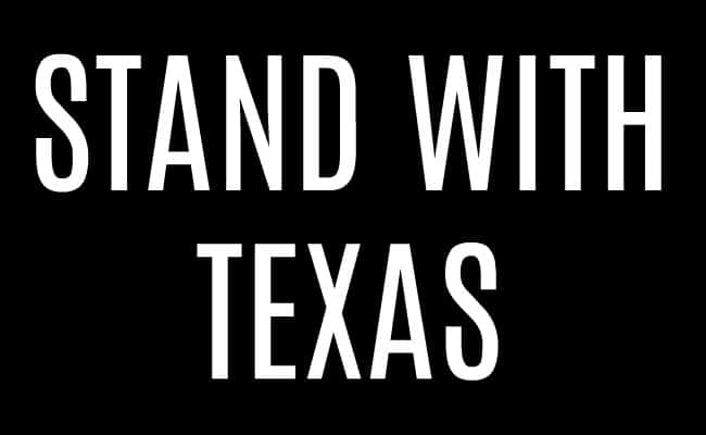 Stand with Texas