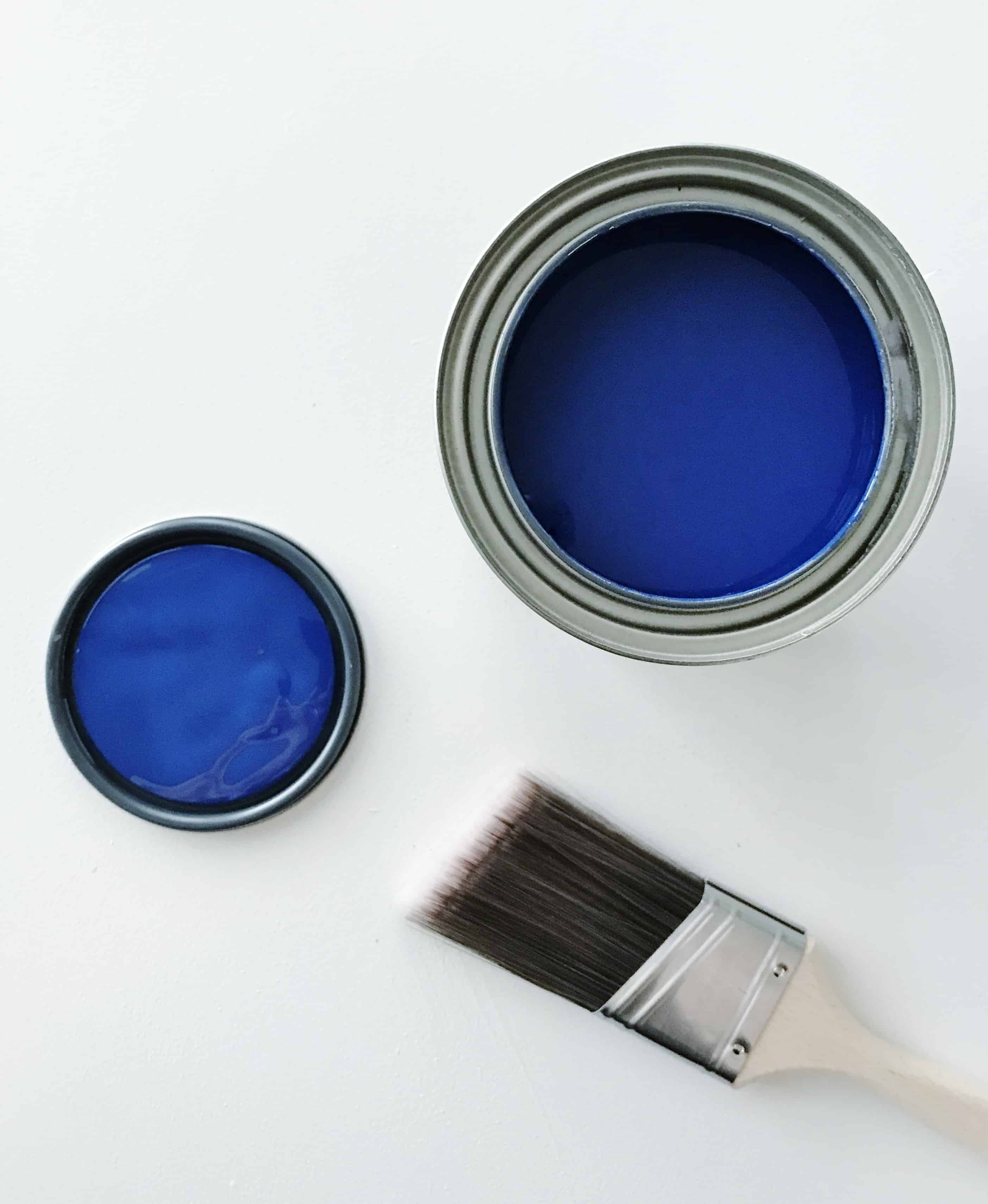 A beautiful, rich blue with hints of purple. This color is Sherwin-Williams Indigo SW 6531