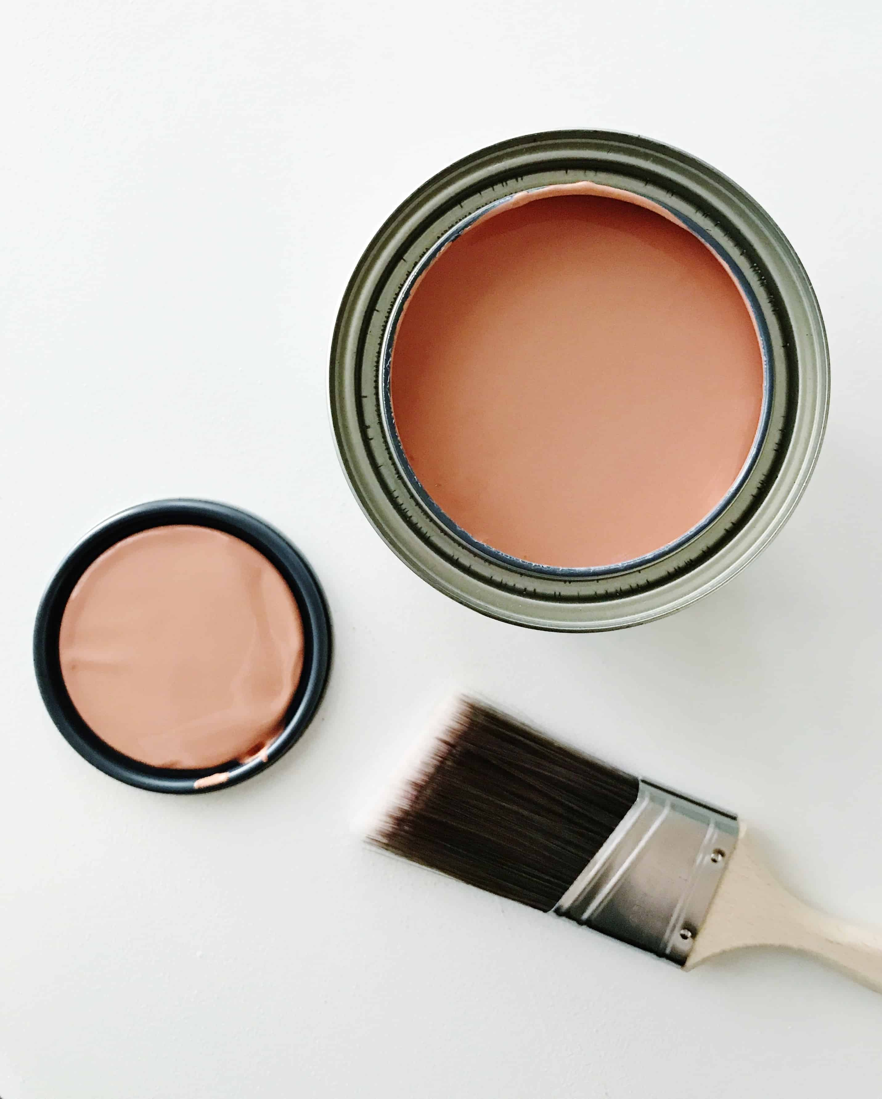 A rusty burnt red-orange paint from Sherwin-Williams called Rojo Dust SW 9006