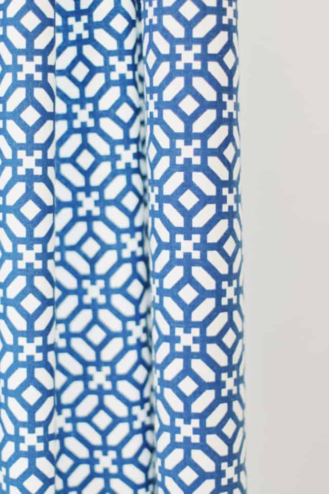 patterned curtain fabrics