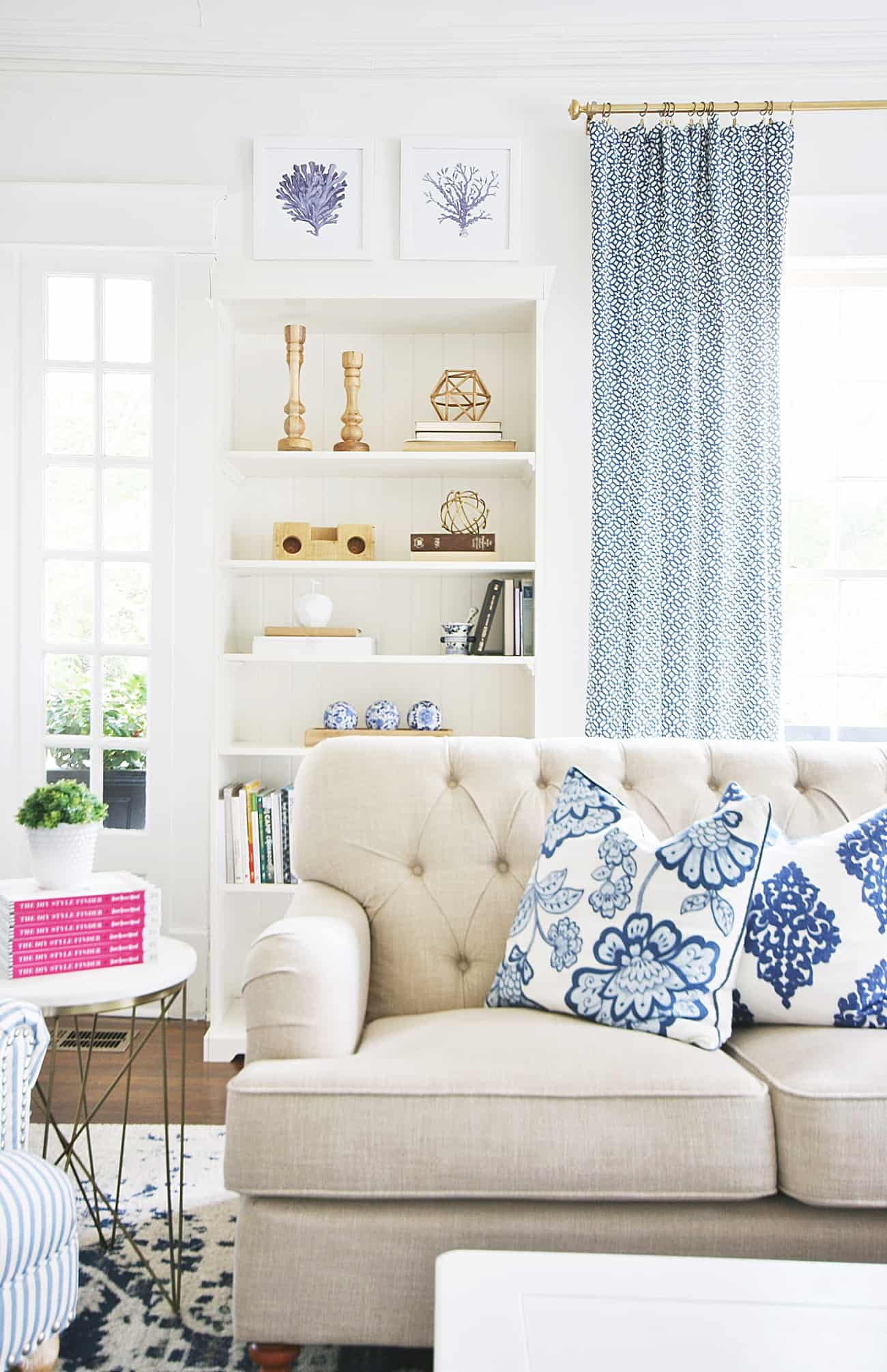 ways to update your home in the living room