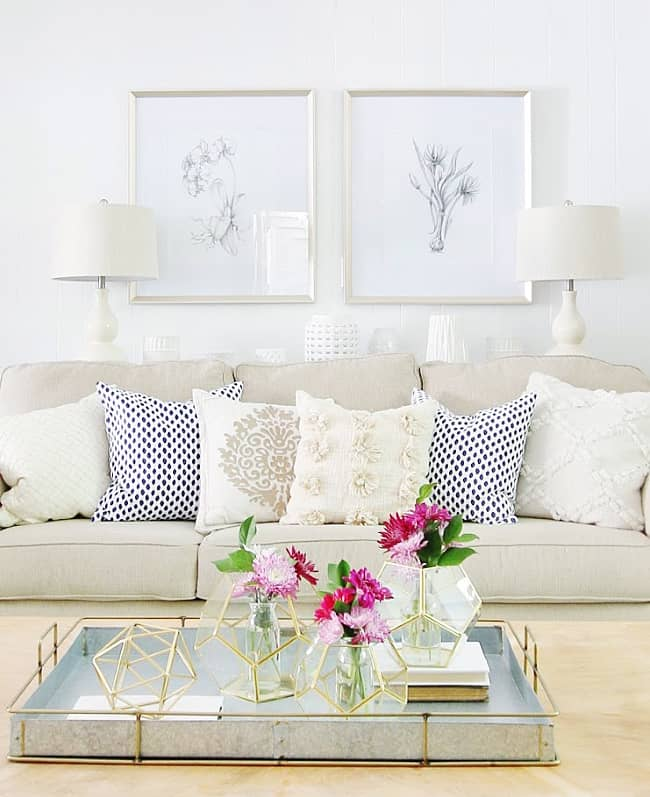 how to choose a lamp shade sofa table