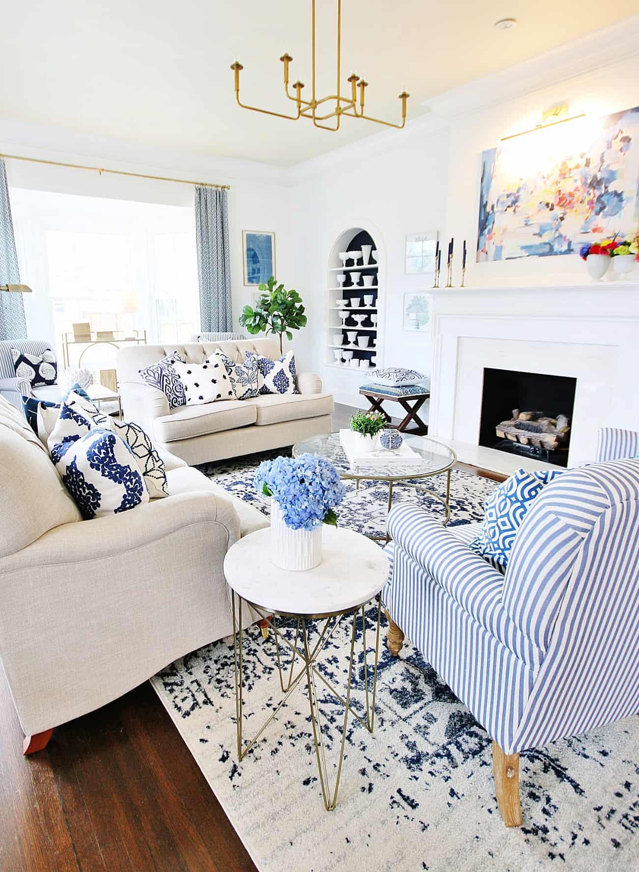 decorating ideas for spring living room decor