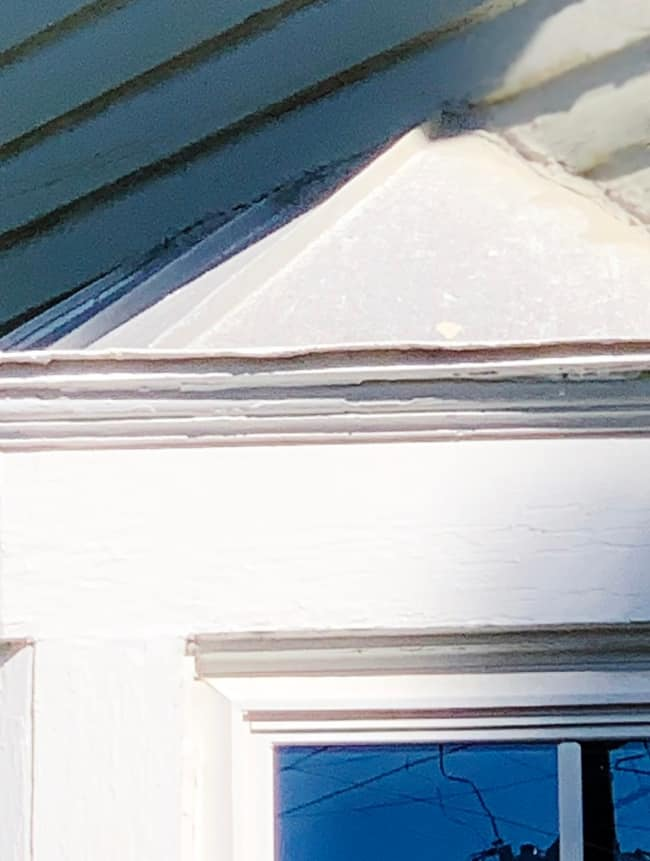 How to paint a metal copper roof before