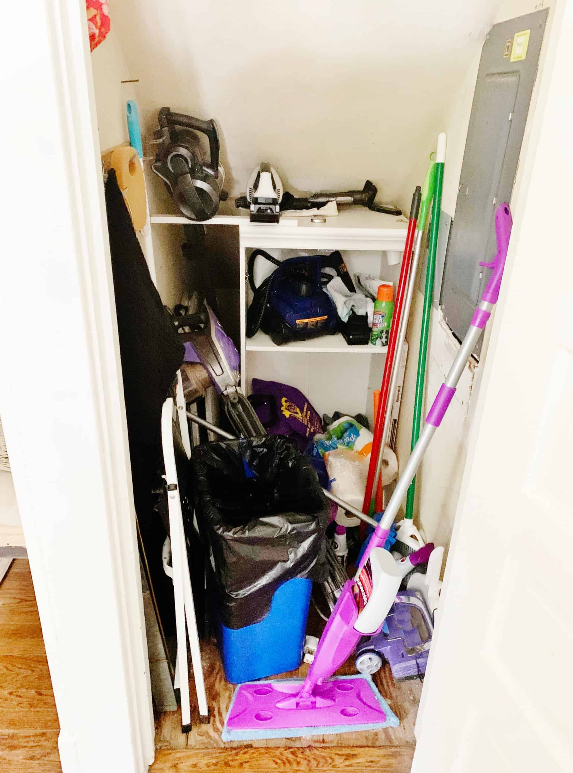 how to maximize space before closet