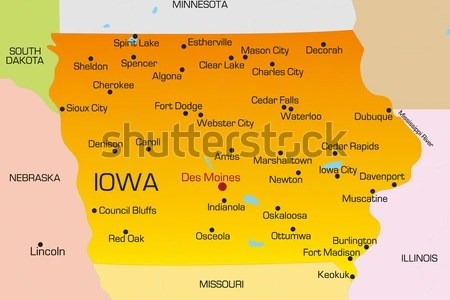 map iowa state » Free Wallpaper for MAPS | Full Maps