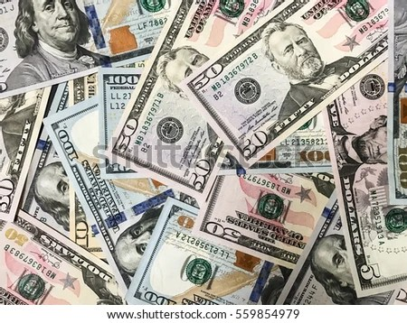 Dollar Banknotes Background American Money Wallpaper Stock Photo     Dollar banknotes background american money wallpaper business surface  financial success backdrop