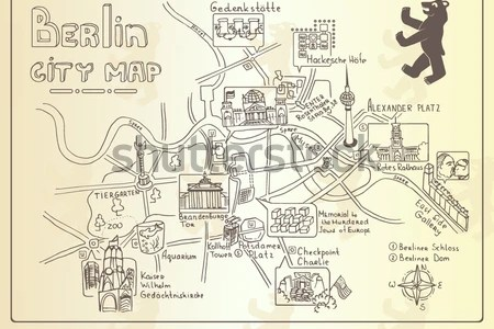 berlin germany map of attractions » Path Decorations Pictures | Full ...