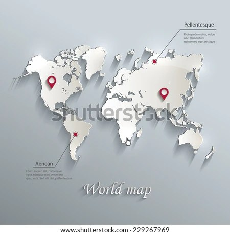 World Map Infographic Europe Map Europe Stock Vector 229267969     Europe  map Europe  Europe vector  vector map