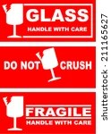 Fragile Handle With Care Clip Art, Vector Fragile Handle ...