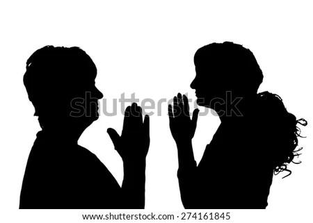 Women Praying Together Stock Vectors & Vector Clip Art ...