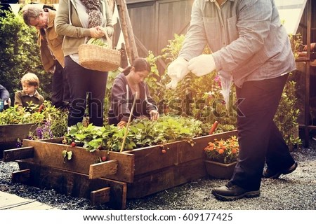 People Gardening Stock Images, Royalty-Free Images ...