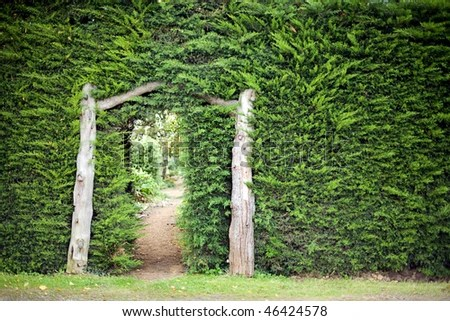 Garden Archway Stock Photos Images Amp Pictures Shutterstock