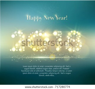 Vector 2018 Happy New Year Background Stock Vector  Royalty Free     Vector 2018 Happy New Year Background Stock Vector  Royalty Free  717280774    Shutterstock