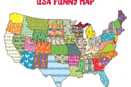 usa states map for kids » Full HD MAPS Locations - Another World ...