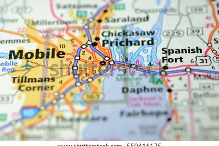 mobile alabama us map » Full HD MAPS Locations - Another World ...