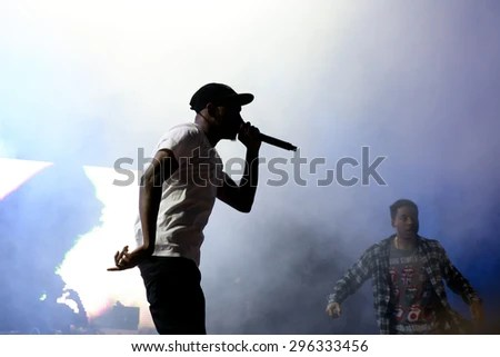 Rapper Silhouette Stock Images, Royalty-Free Images ...