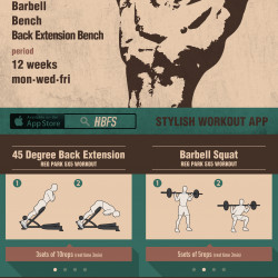 Reg Park S 5x5 Workout Routine Visual Ly