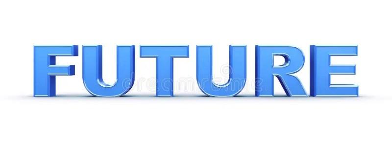3d Future word stock illustration. Illustration of ...