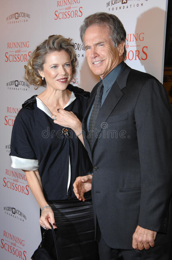 Annette Bening,Warren Beatty Editorial Image - Image of ...