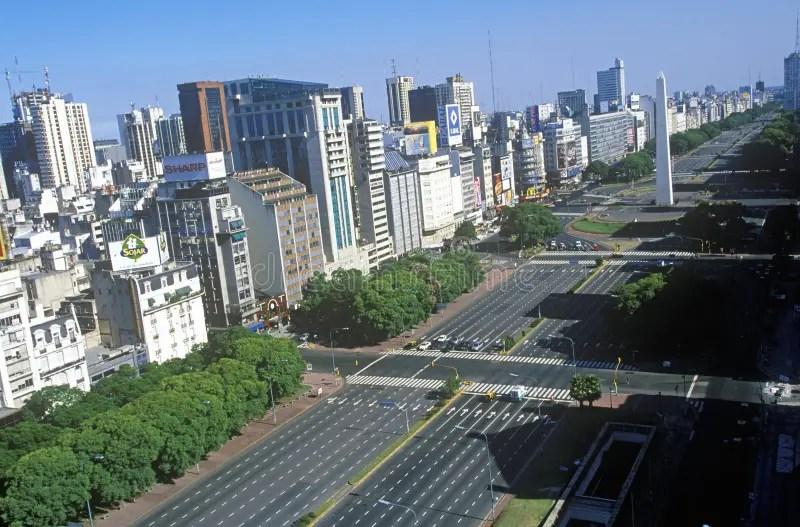 9 La Du Aires Plus Julio Route Buenos La De Argentine Large Monde