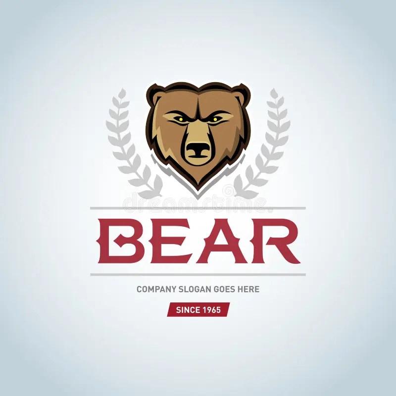 Grizzly Bear Mascot Clip Art
